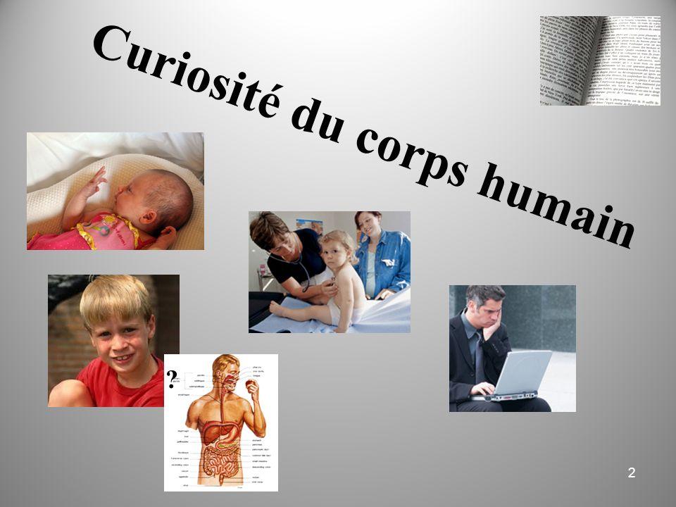 Curiosité du corps humain 2 ?