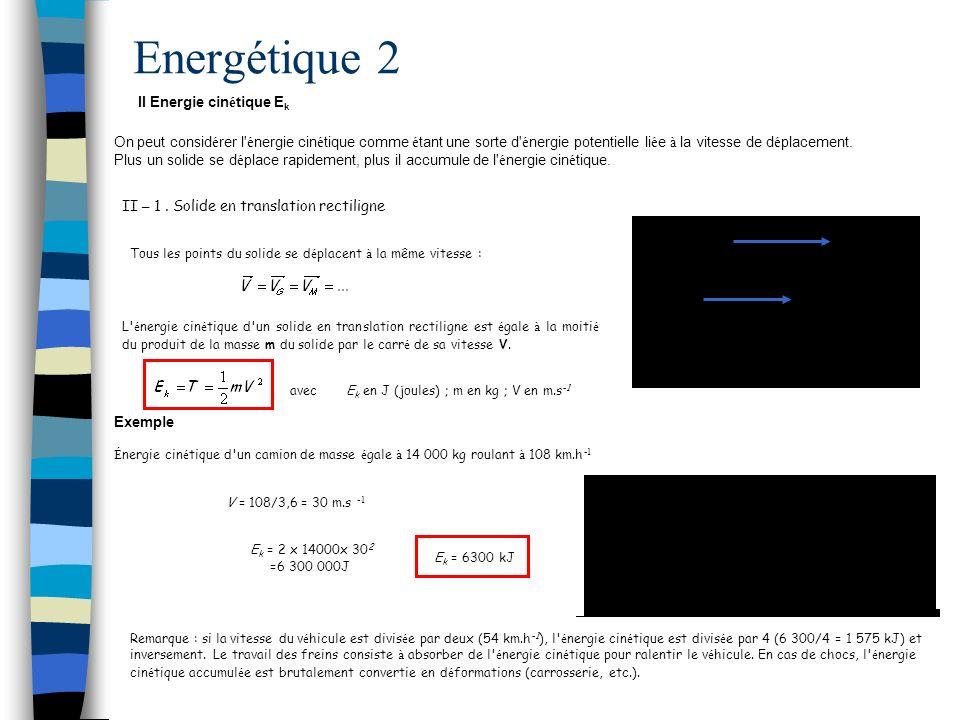 Energétique 2 II -2.