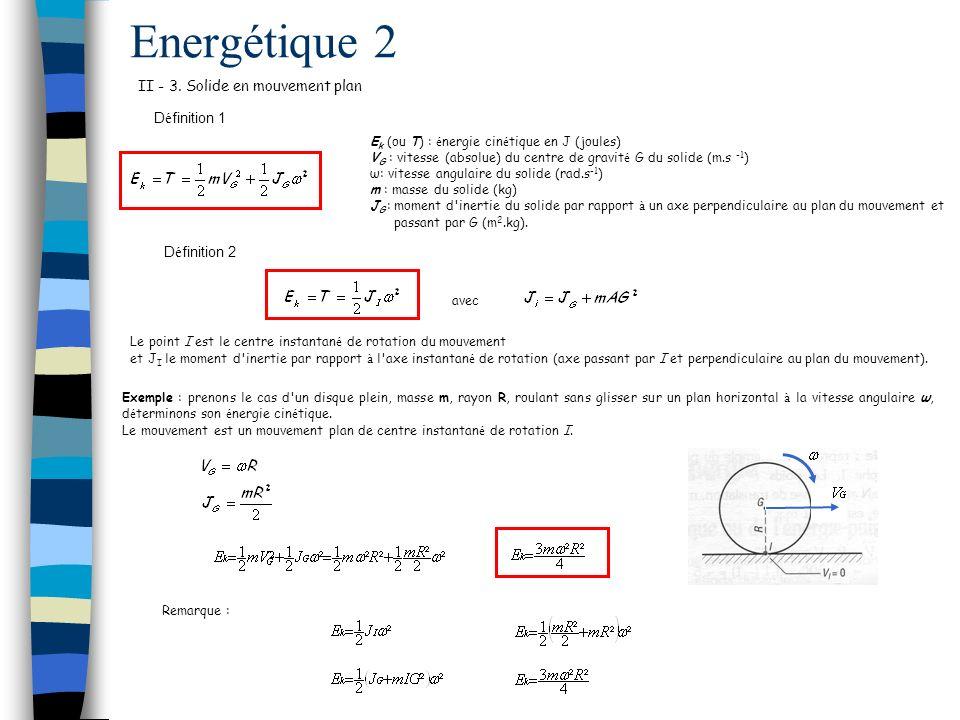 Energétique 2 II - 3.