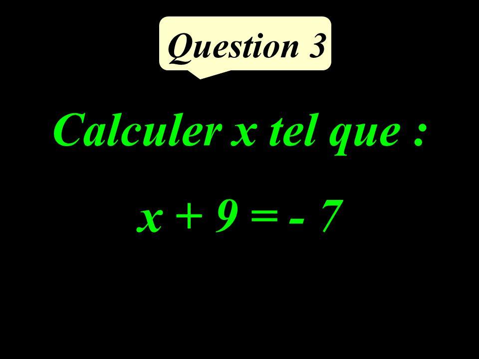 Calculer le volume de ce cube : 4 cm Question 2