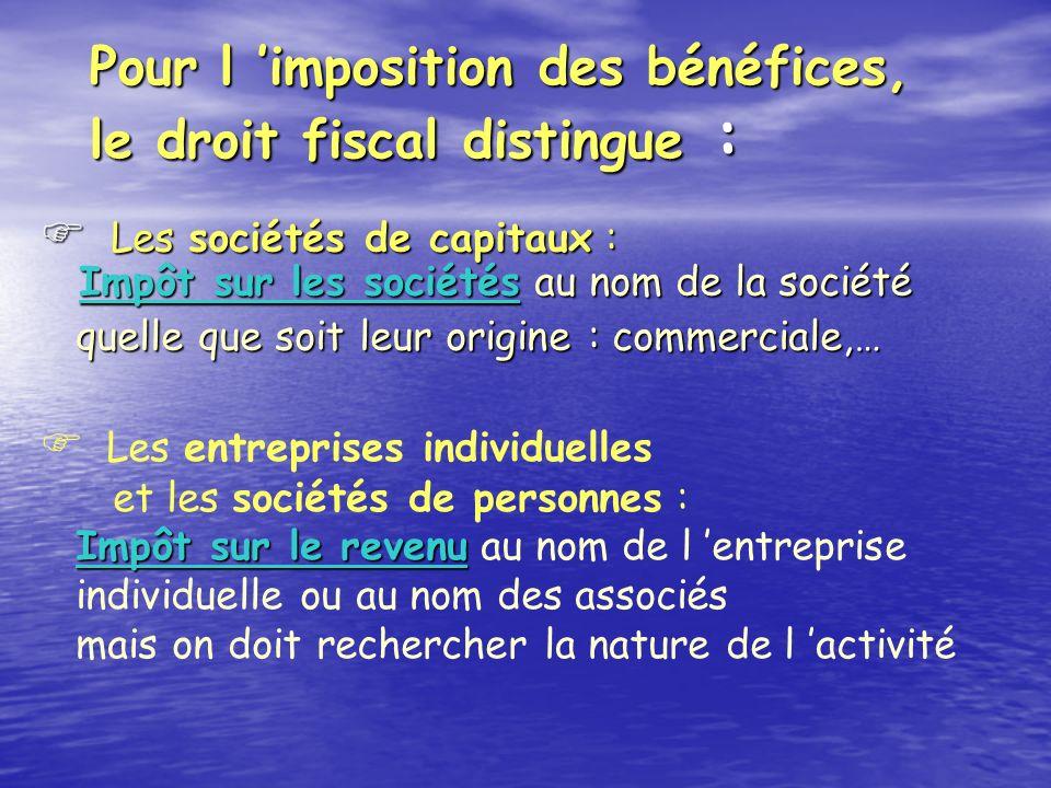 BENEFICES INDUSTRIELS ET COMMERCIAUX IMPOT SUR LES SOCIETES 2003 - 2004