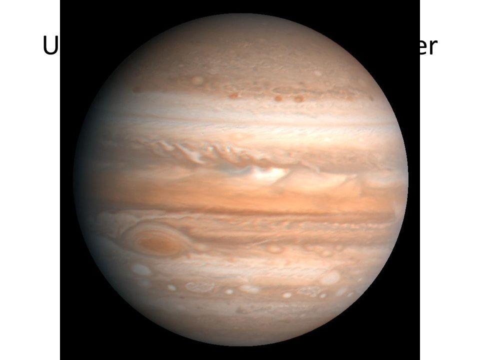 Une planète au télescope: jupiter