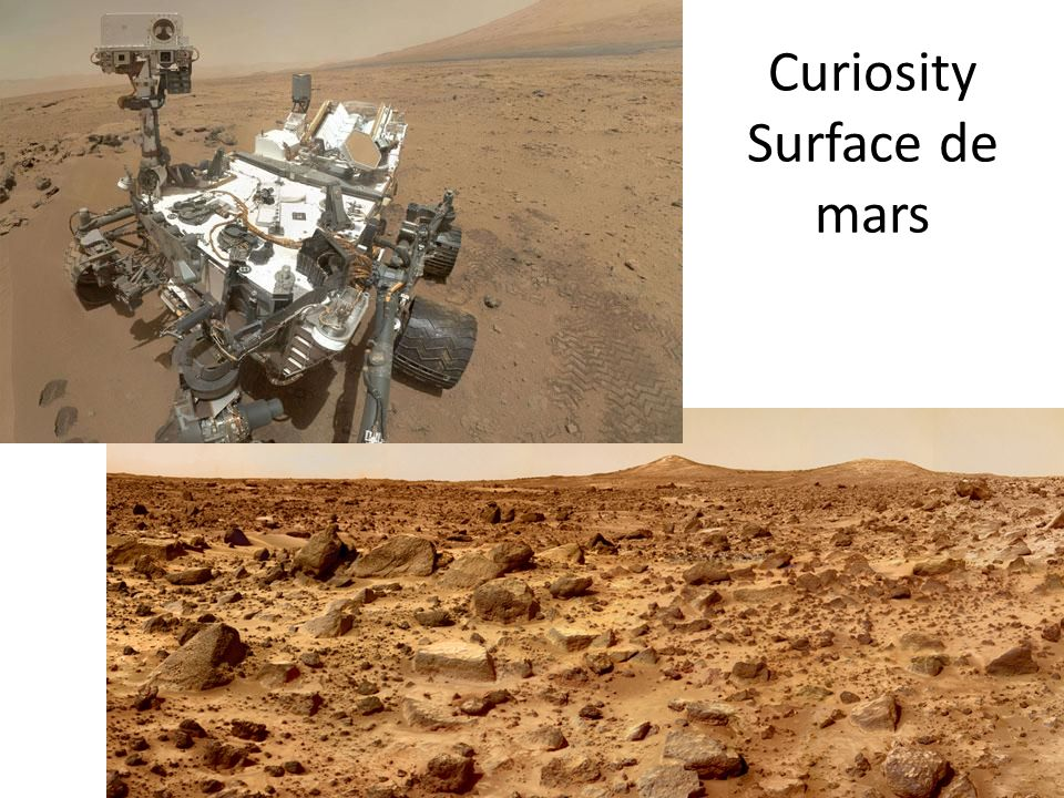 Curiosity Surface de mars