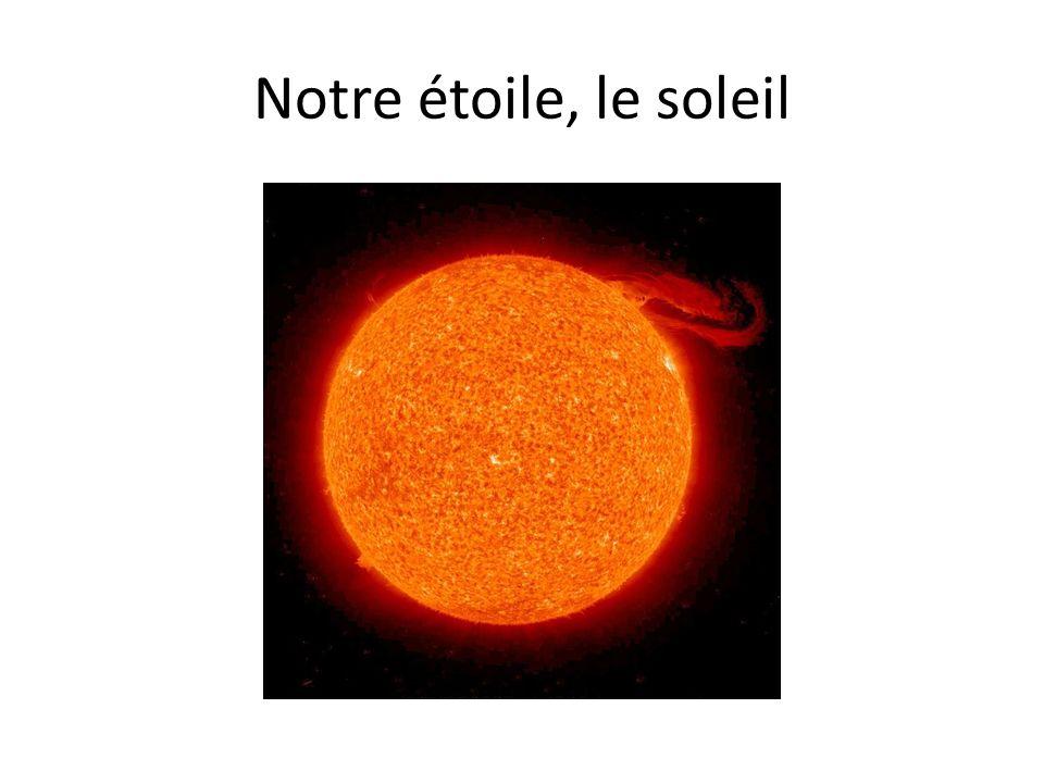 Notre étoile, le soleil