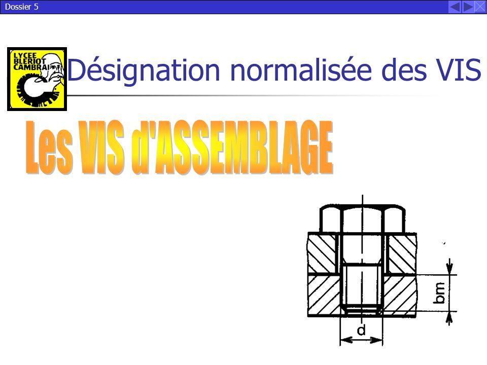 Dossier 5 Désignation normalisée des VIS