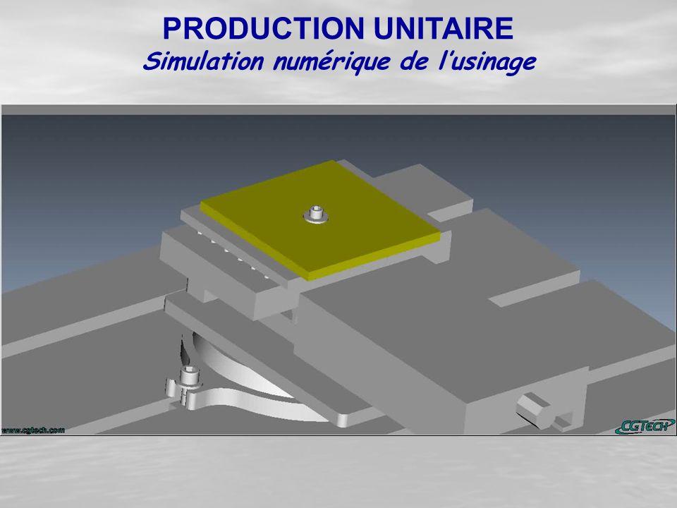 Simulation numérique de l'usinage