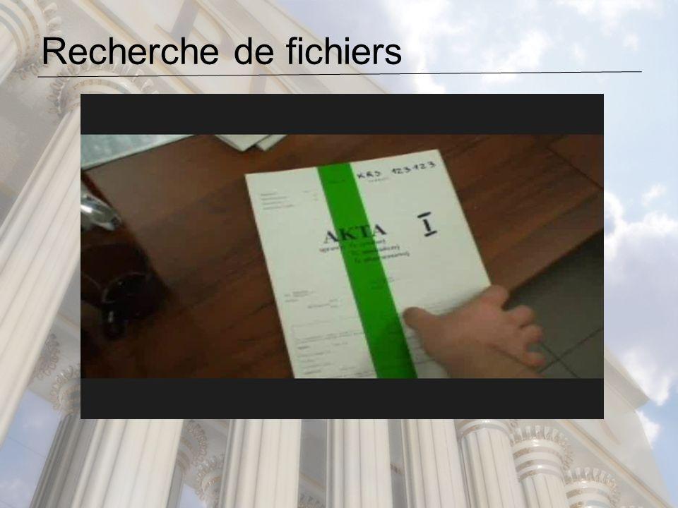 Recherche de fichiers