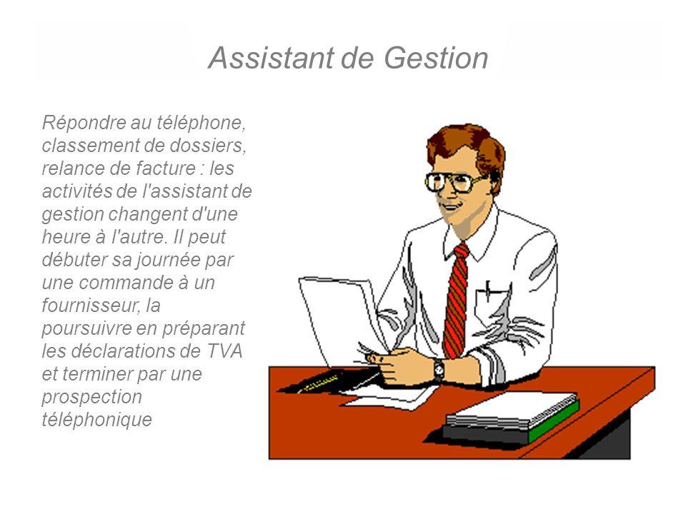 Assistant en ressources humaines L'assistant de ressources humaines est souvent une femme.