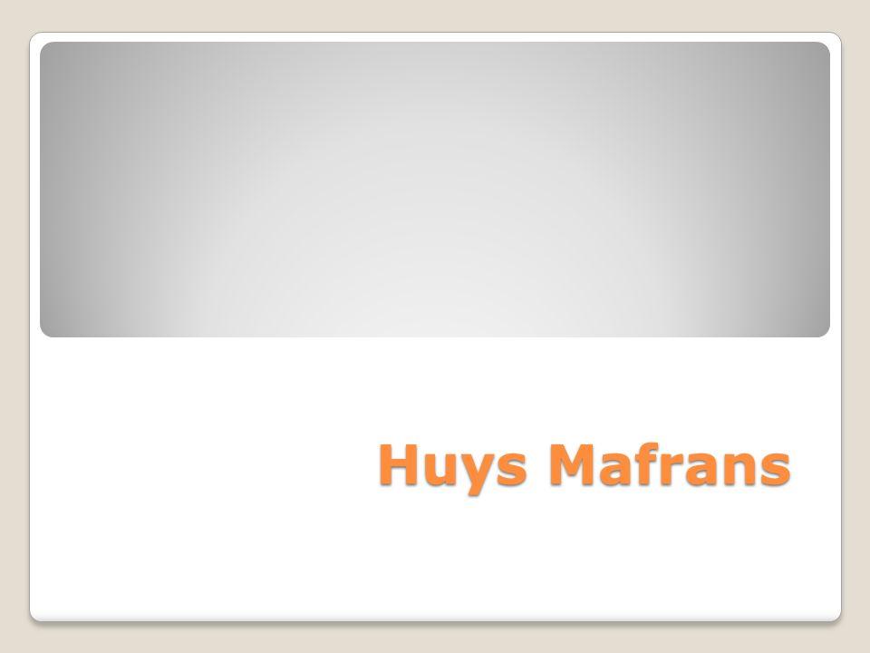 Huys Mafrans