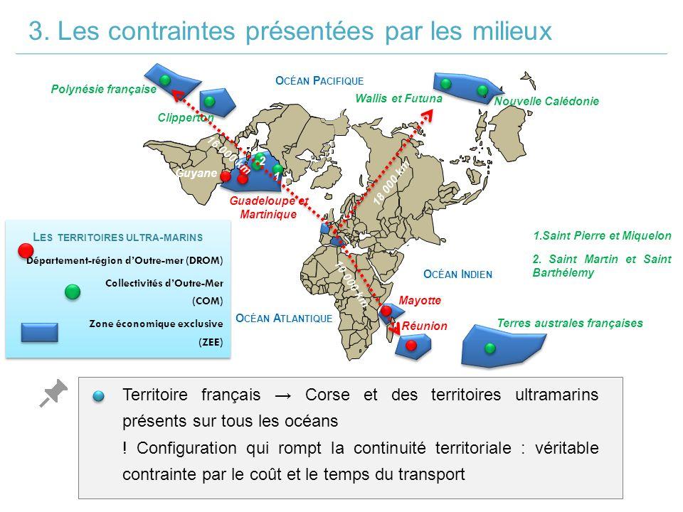 L ES TERRITOIRES ULTRA - MARINS Département-région d'Outre-mer (DROM) Collectivités d'Outre-Mer (COM) Zone économique exclusive (ZEE) L ES TERRITOIRES ULTRA - MARINS Département-région d'Outre-mer (DROM) Collectivités d'Outre-Mer (COM) Zone économique exclusive (ZEE) Guadeloupe et Martinique Mayotte Réunion Guyane Clipperton Polynésie française Terres australes françaises 2.