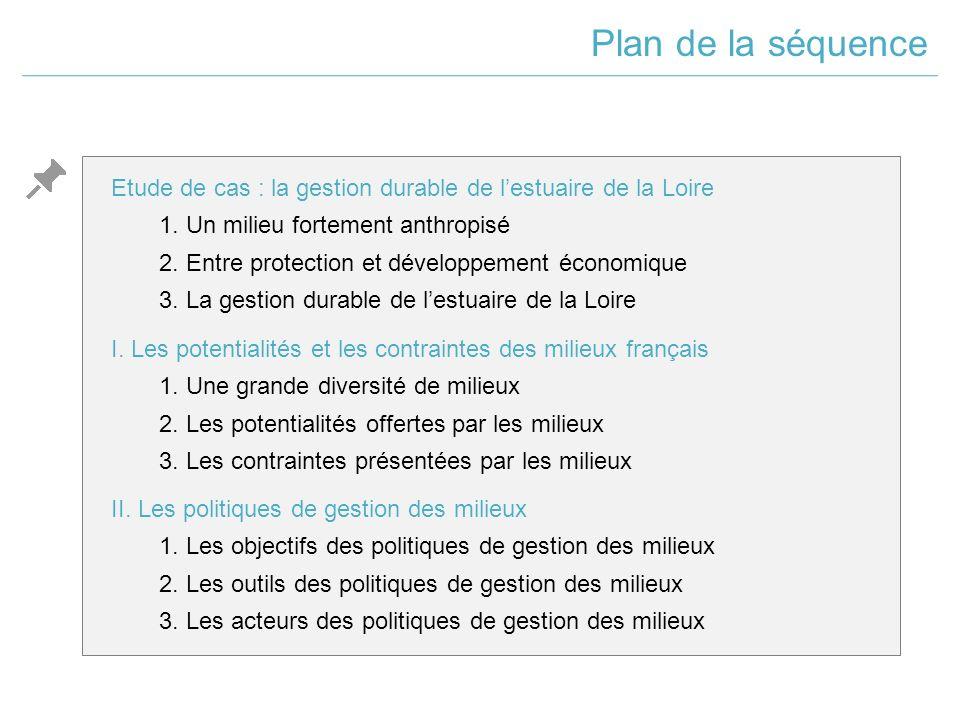 Etude de cas : la gestion durable de l'estuaire de la Loire 1.