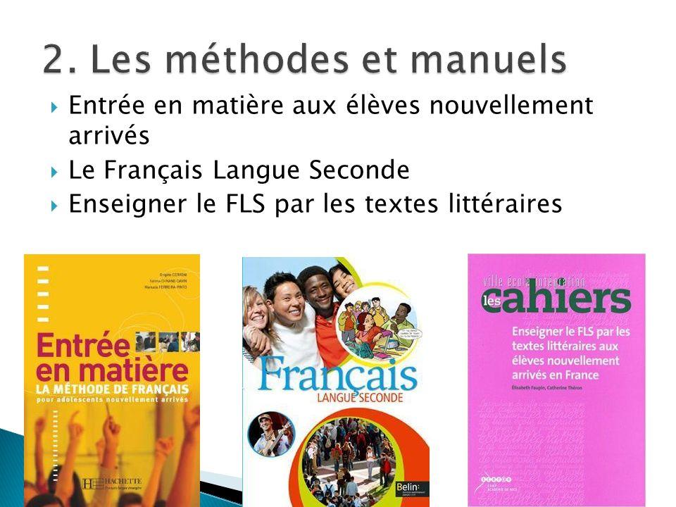 français langue seconde