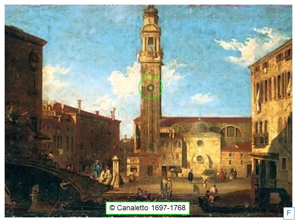 F © Canaletto 1697-1768