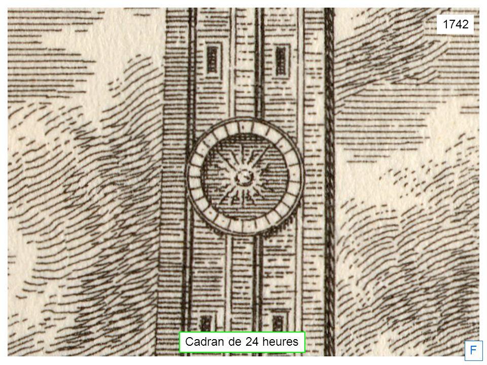 F Cadran de 24 heures 1742