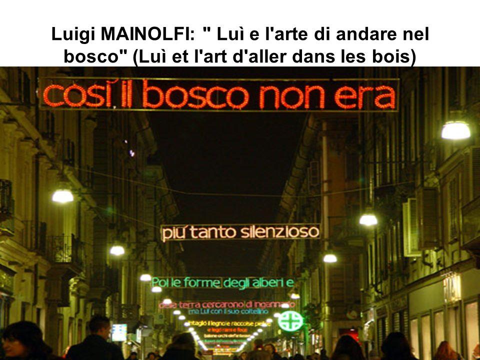 Mario MOLINARI: Concerto di Parole (concert de mots)