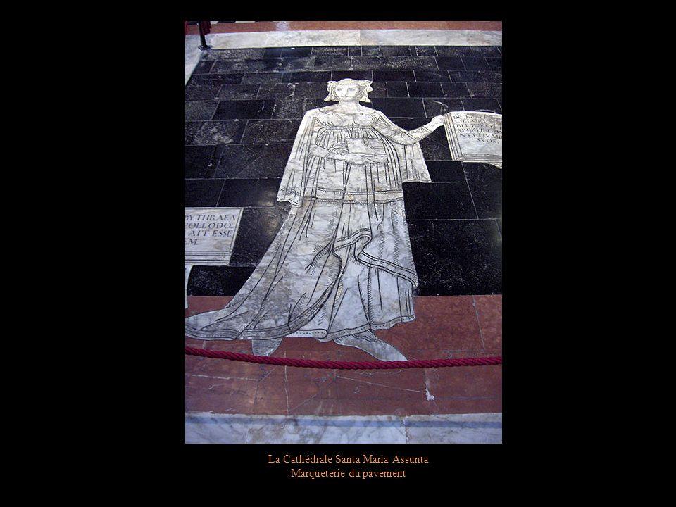 La Cathédrale Santa Maria Assunta Chaire de Nicolas Pisano