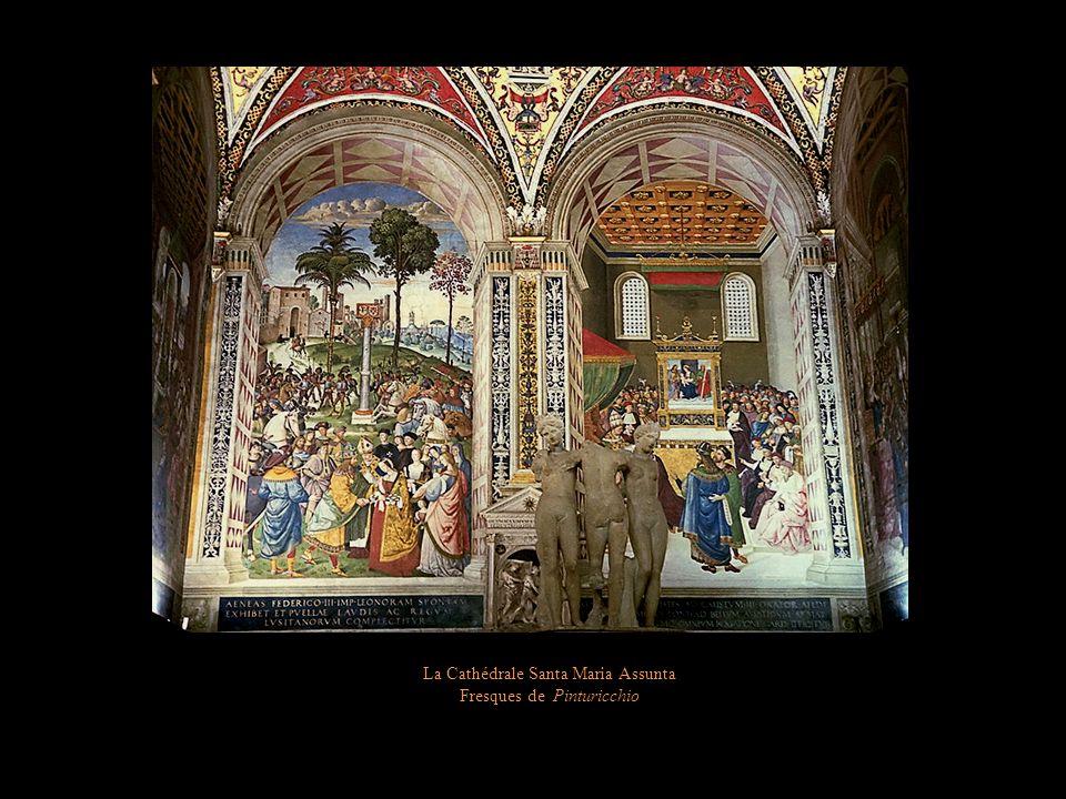 La Cathédrale Santa Maria Assunta Marqueterie du pavement