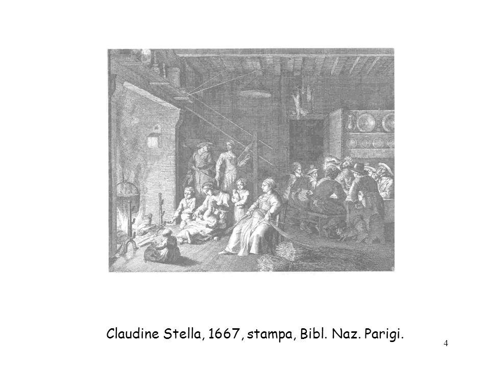 4 Claudine Stella, 1667, stampa, Bibl. Naz. Parigi.