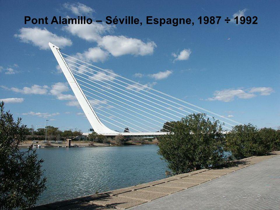 Santiago Calatrava Voici quelques une de ses œuvres. est né en 1951 à Valence. Il étudie l'art et l'architecture à la Escuela Técnica Superior de Arqu