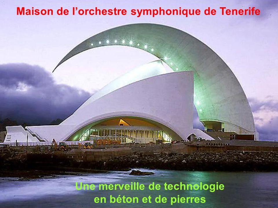 Maison de l'orchestre symphonique de Tenerife Santa Cruz, Espagne, 1991 ÷ 2003 de l'orchestre symphonique de Tenerife