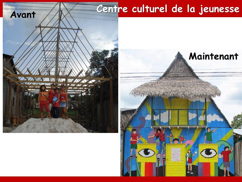 Avant Maintenant Centre culturel de la jeunesse