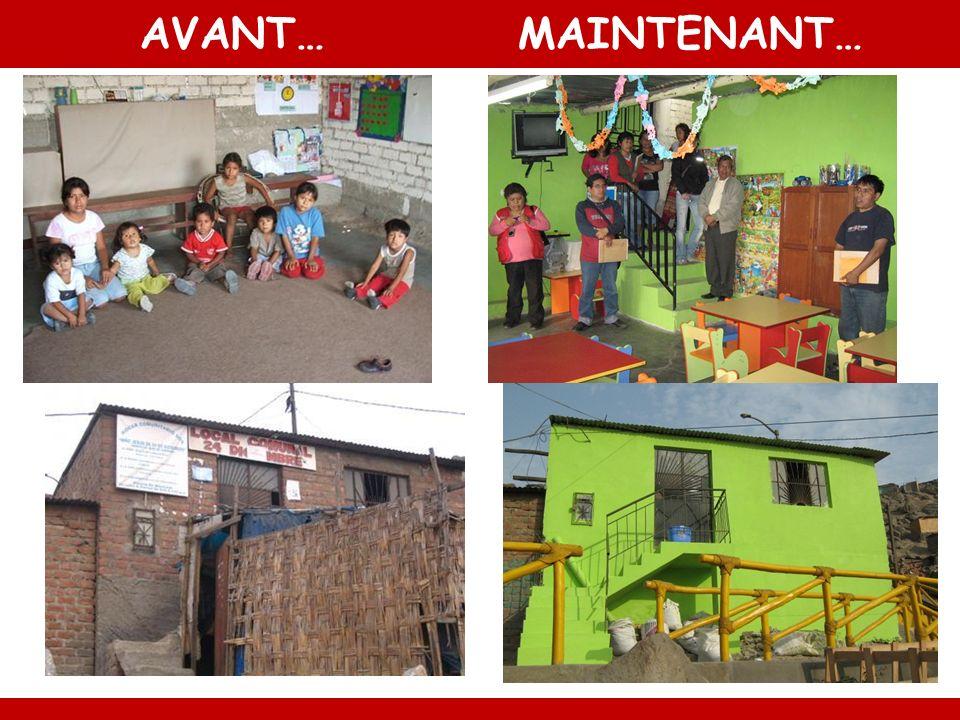 AVANT…MAINTENANT…