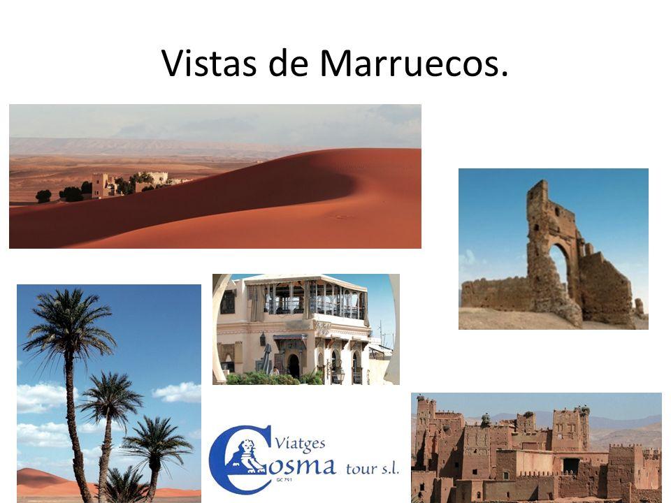 Vistas de Marruecos.