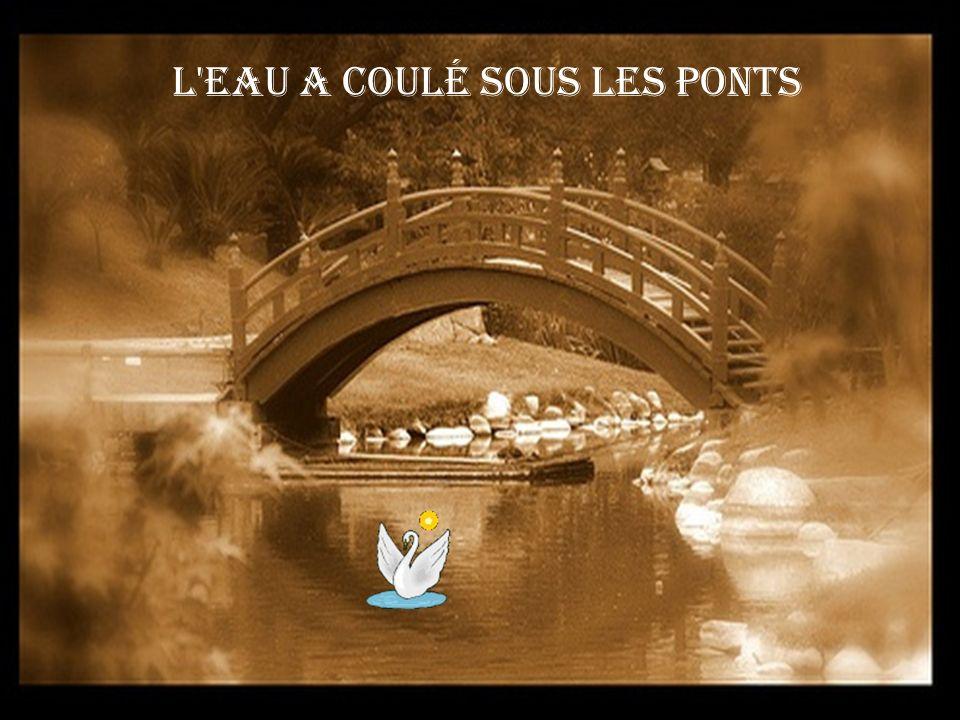 MOI L'eau a coulé sous les ponts