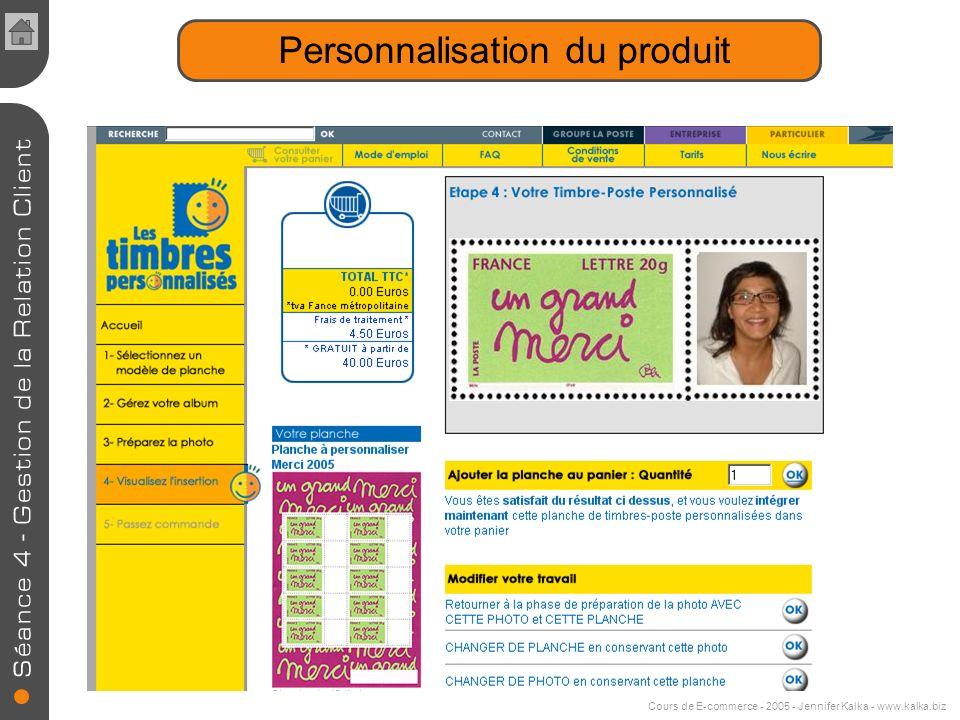 Personnalisation Les gains attendus de la personnalisation -Une meilleure adaptation au besoin -Fidélisation -Différenciation -Augmentation de la marg