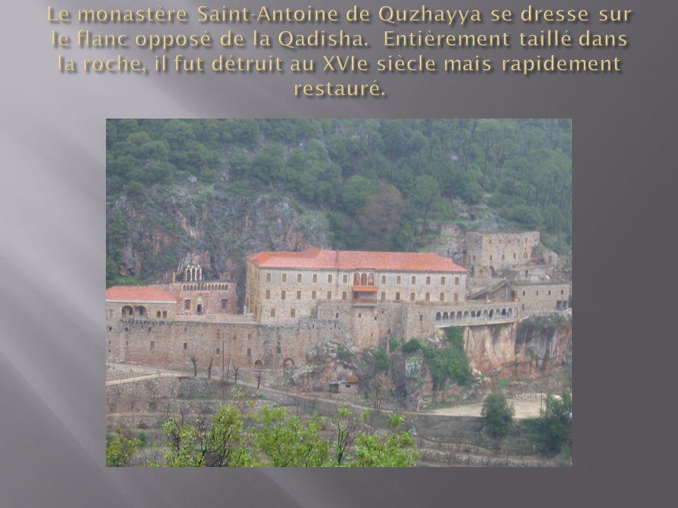 Le monastère Mar Lichaa (Mar Lisa ou Saint Elisée), mentionné pour la première fois au XIVe siècle