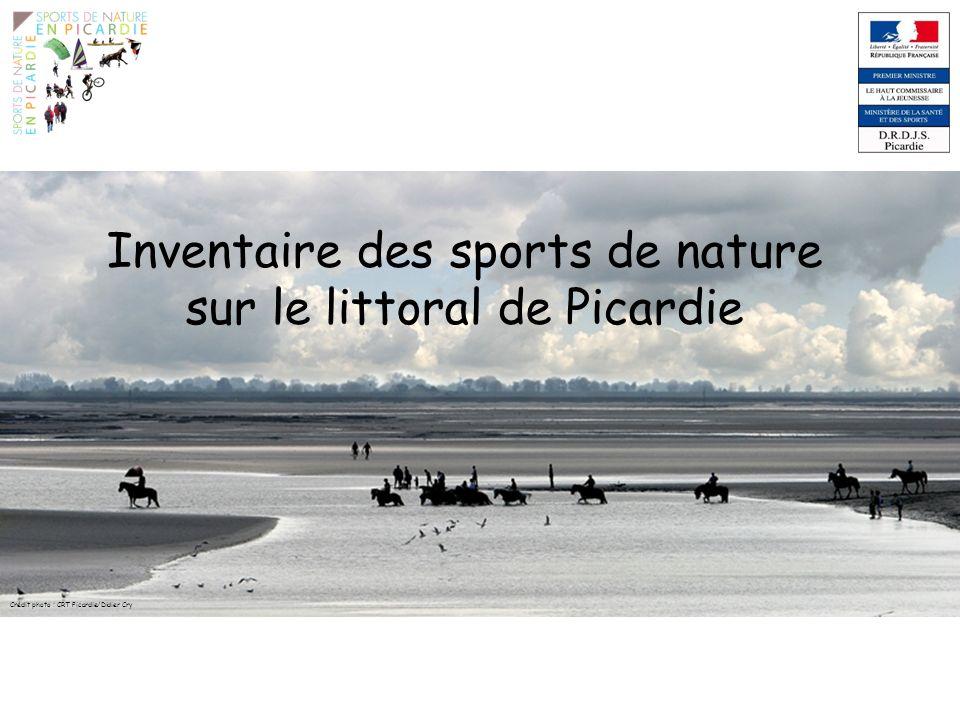 Références « Schéma régional des loisirs et des sports de nature 2008/2013 » – Document édité par la région Picardie, le CROS Picardie, la Préfecture de la Région Picardie et lUnion Européenne.