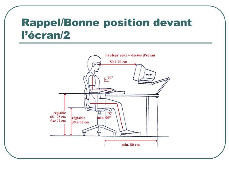 Rappel/Bonne position devant lécran/2