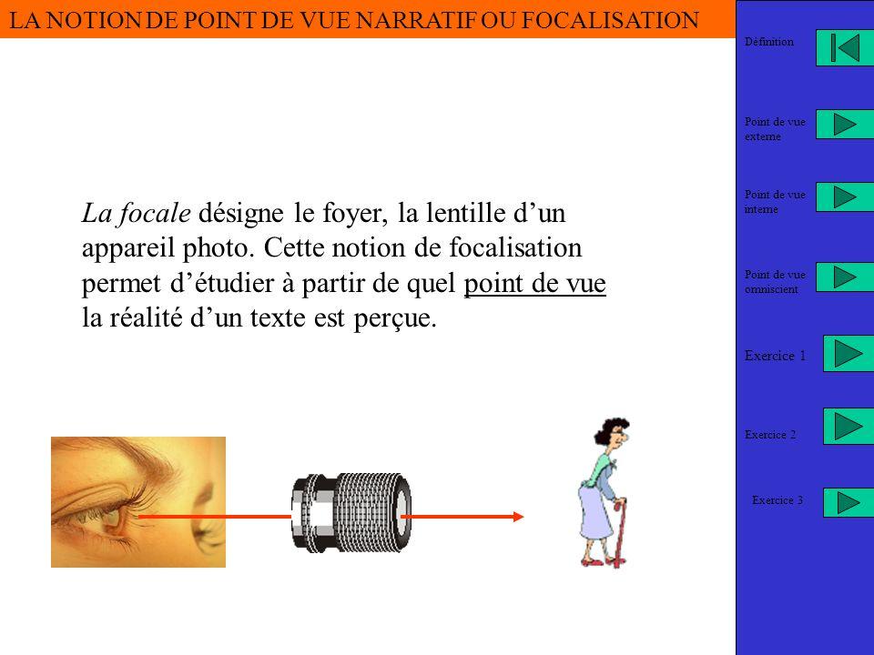 . Lycée Jacques Cœur- Bourges Bonjour, aujourdhui nous allons aborder la question du point de vue narratif …Ce diaporama est en deux parties. 1- Défin