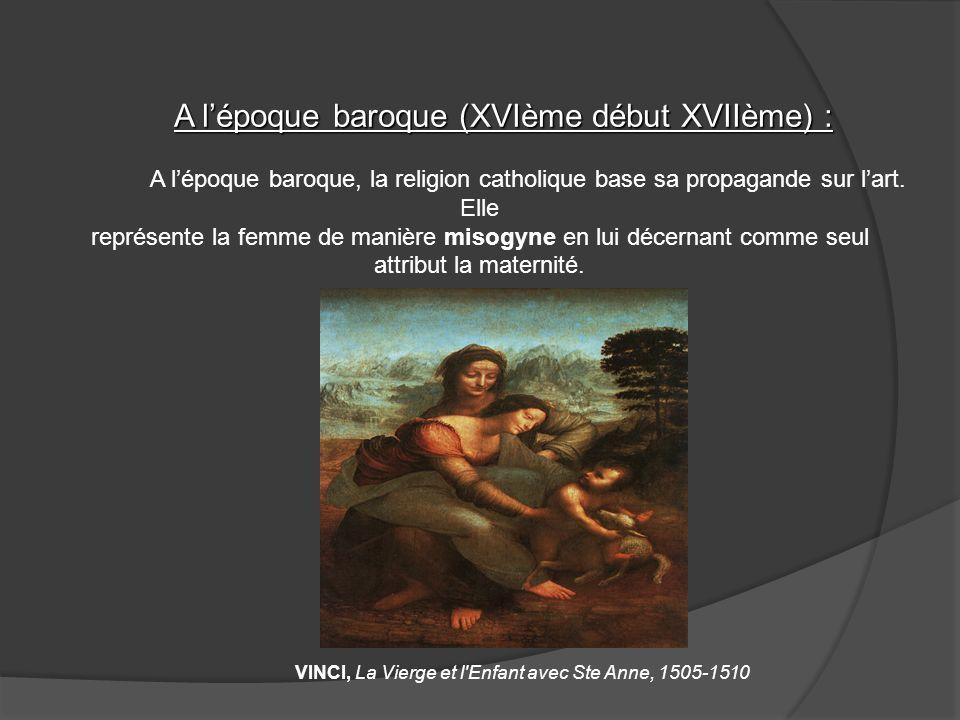 A lépoque baroque (XVIème début XVIIème) : A lépoque baroque (XVIème début XVIIème) : A lépoque baroque, la religion catholique base sa propagande sur