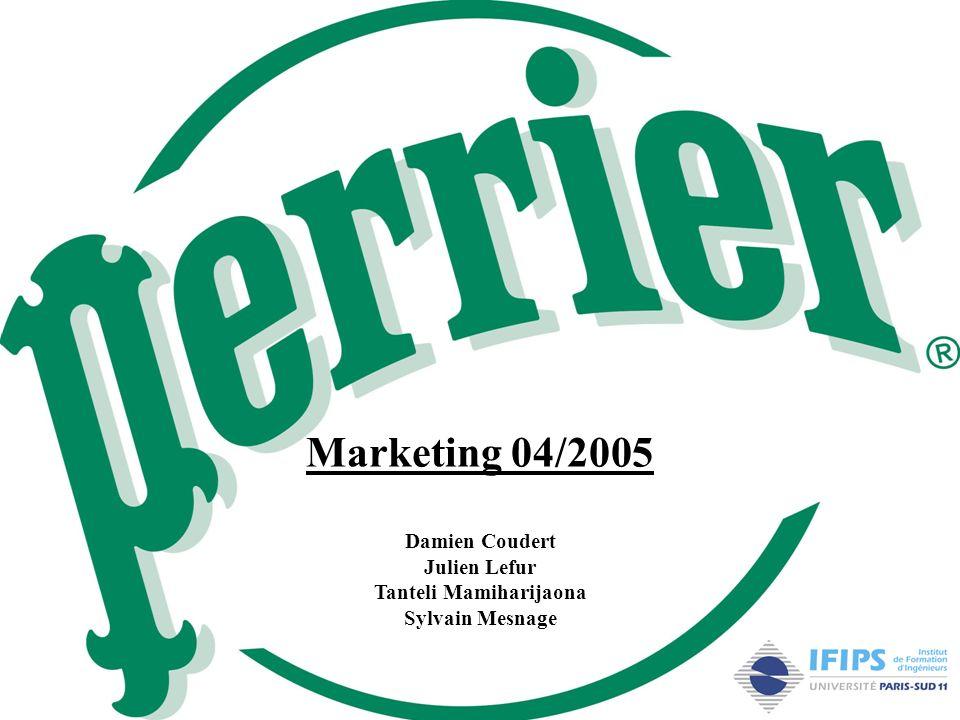 Marketing 04/2005 Damien Coudert Julien Lefur Tanteli Mamiharijaona Sylvain Mesnage