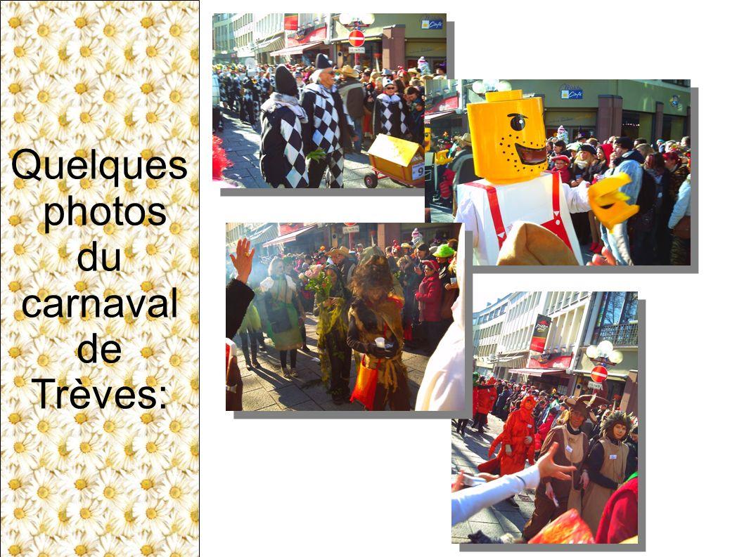 Quelques photos du carnaval de Trèves: