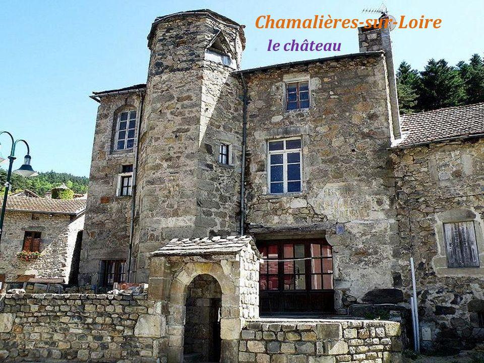 Chamalières-sur-Loire. rue ancienne
