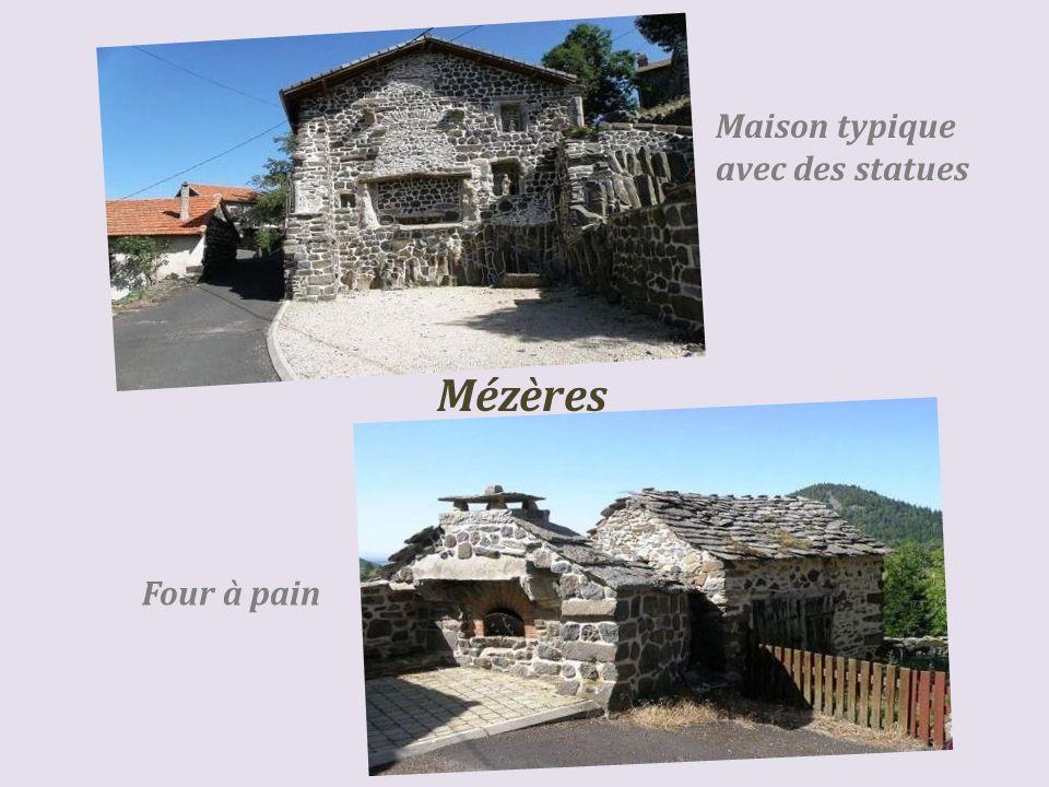 Mézères le village