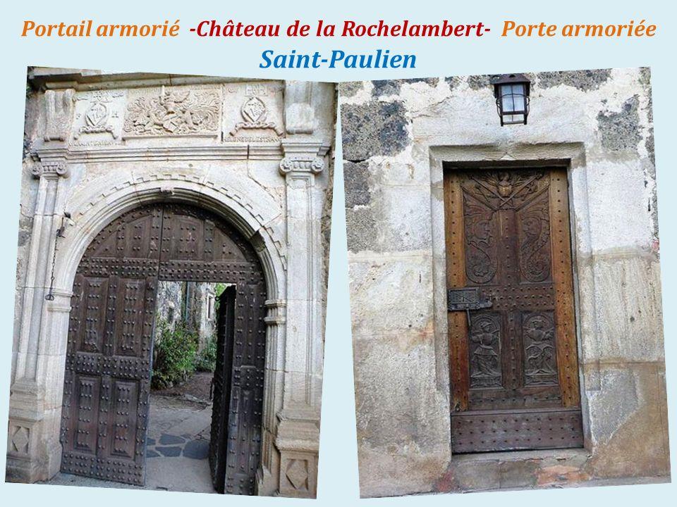 Saint-Paulien château de la. Rochelambert