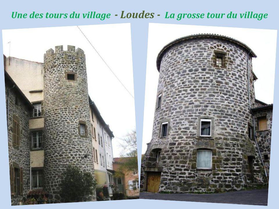 Loudes le château de Mestrénac construit. vers 1250 par les Templiers