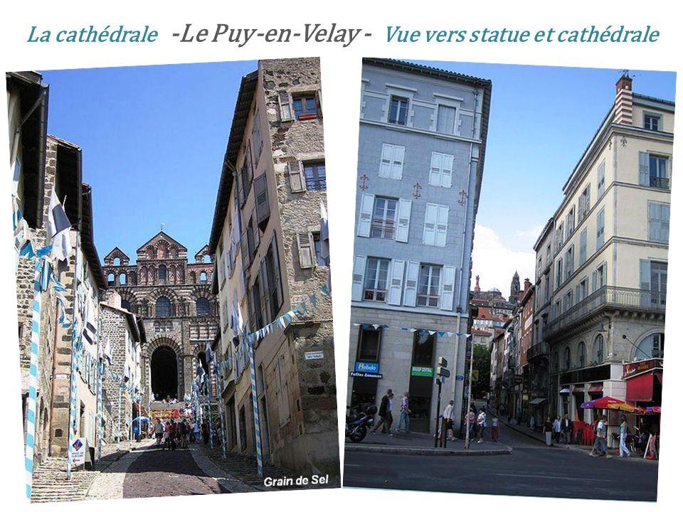 Le Puy-en-Velay statue Notre-Dame de France
