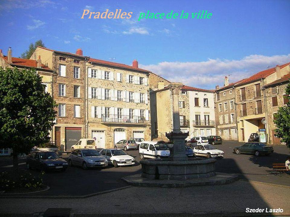 Une porte de la ville - Pradelles- Maison ancienne