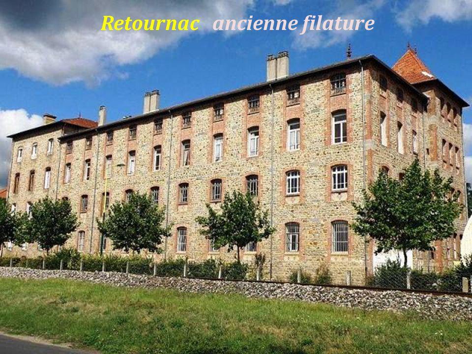 Aurec-sur-Loire léglise Saint-Pierre,. le château seigneurial