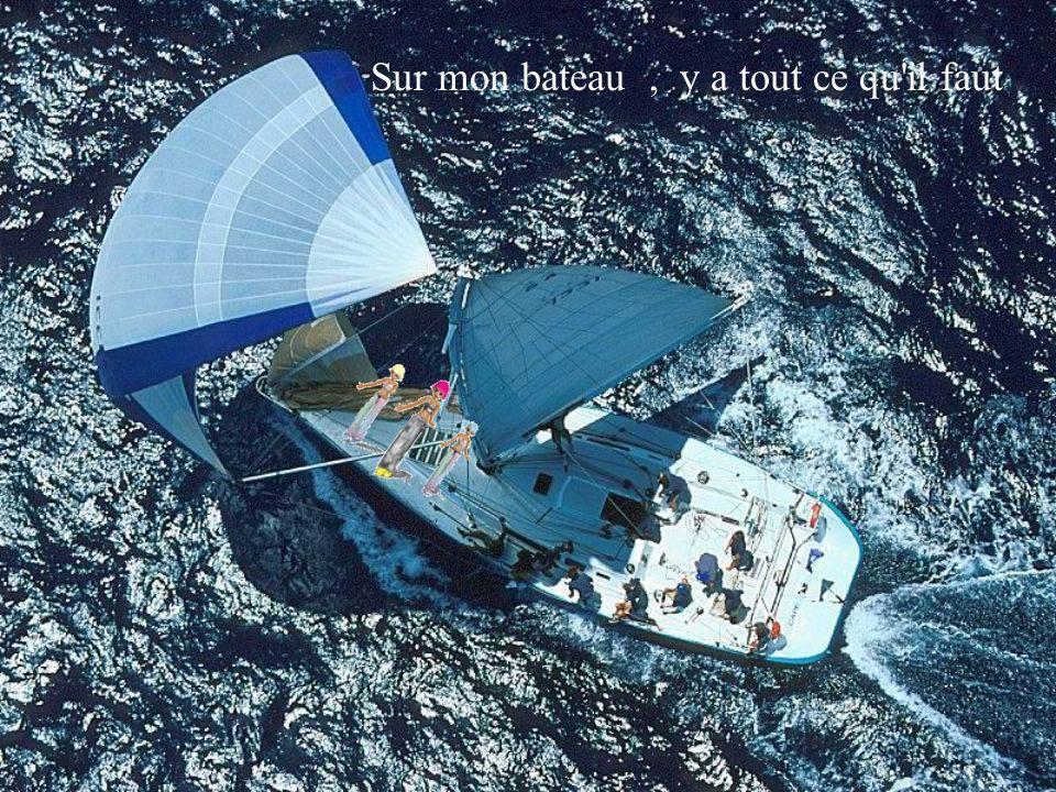Sur mon bateau, oublier le temps sur un calypso