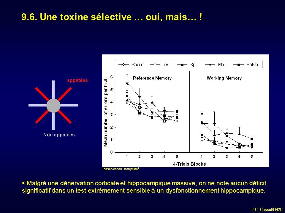 J-C.Cassel/LN2C 9.6. Une toxine sélective … oui, mais… .