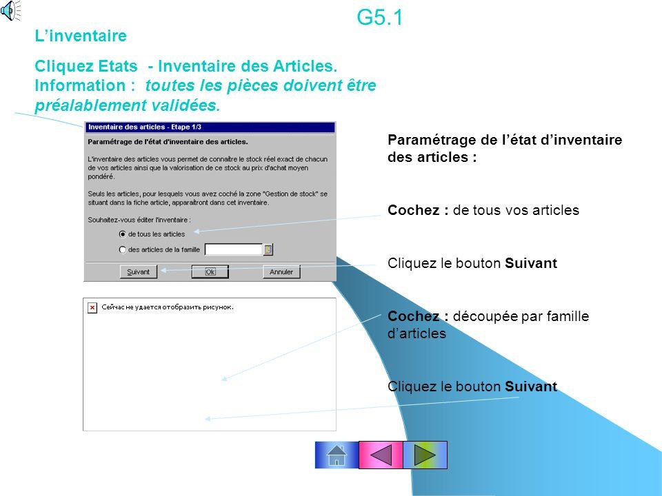 G4.3 Corriger une facture validée.. Créer un avoir. Cliquez le menu Ventes – Avoirs. Cliquez le bouton « Créer » Ou clic droit de la souris « Créer ».