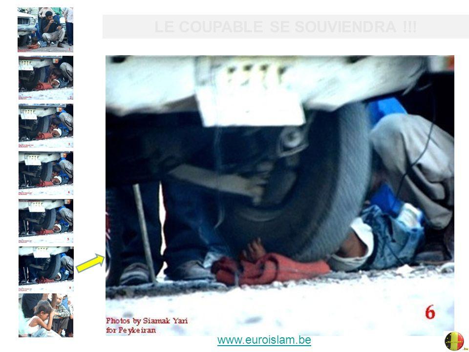 CAR NUL NÉCHAPPE À LA LOI DE DIEU !! www.euroislam.be