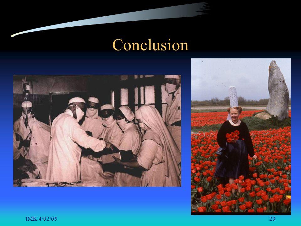 IMK 4/02/0529 Conclusion