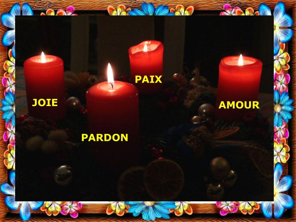 JOIE PARDON AMOUR PAIX