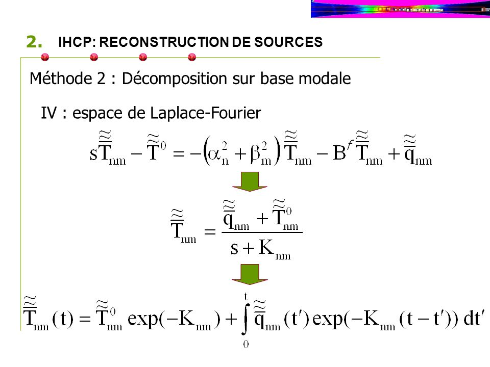 IHCP: RECONSTRUCTION DE SOURCES 2.